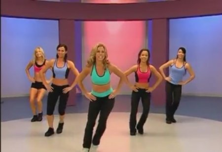 Ретро аэробика с Дениз Остин / Denise Austin: Retro Aerobics Cardio Workout