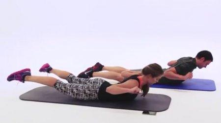 Быстрая тренирока пресса и косых мышц живота / 10 Minute Abs and Obliques Workout