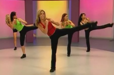 Кардио кикбоксинг с Дениз Остин / Denise Austin: Kickboxing Cardio Burn Workout
