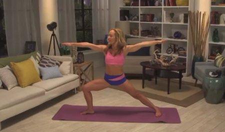 Базовый урок йоги / Yoga Basics Workout