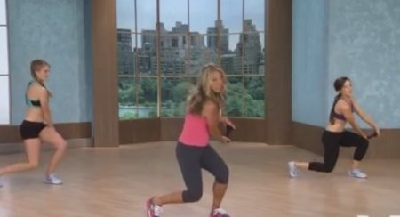 Тренировка сжигающая жир на животе / Shrink Belly Fat Cardio Abs Workout