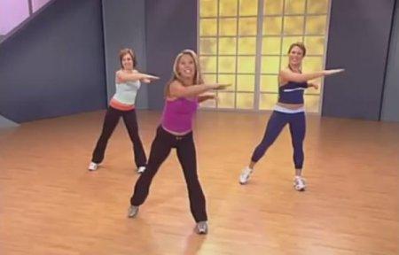 Кардио тренировка с Дениз Остин / Cardio Fat Blast Workout