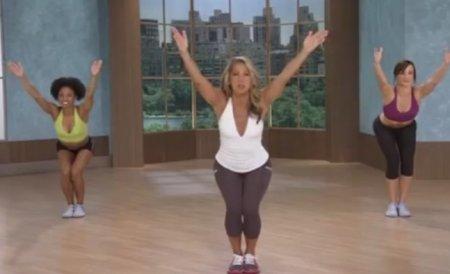 7-митная тренировка для всего тела / 7 Min Total Body Toning Workout