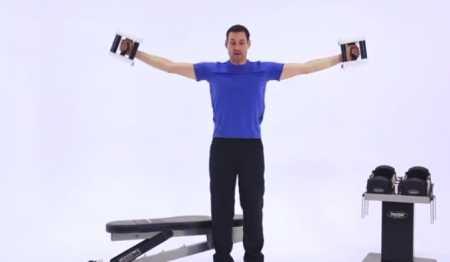 Сплит тренировка для плеч / Upper Body Split Workout - Shoulders