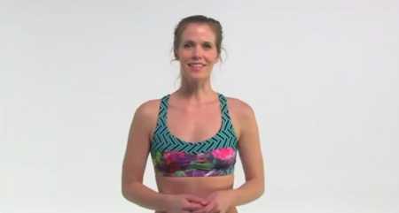 5-минутная тренировка бедер и ягодиц / 5 Minute Butt and Thigh Workout