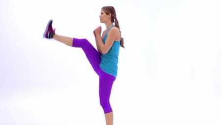 Коротка кардио тренировка для пресса / 10 Minute Cardio and Abs Workout