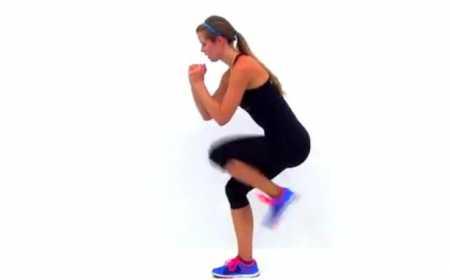Высокоинтенсивная тренировка сжигающая жир / Fat Burning Cardio HIIT Workout