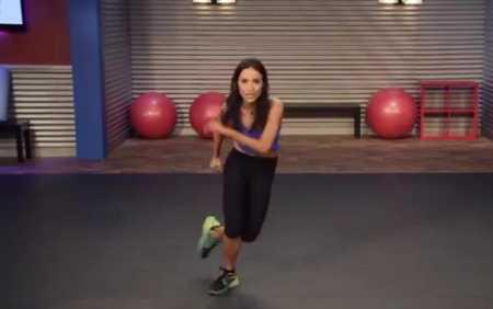 5-минутная кардио тренировка для начинающих / Quick Cardio Burn Workout for Beginners
