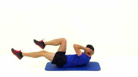 5-минутный комплекс для пресса / 5 Minute Abs Workout Routine