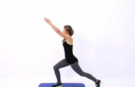 Кардио тренировка низкой интенсивности /Low Impact Cardio Workout