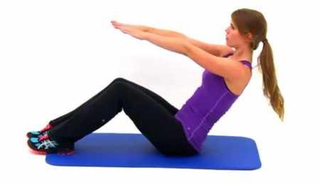Кардио интервали + упражнения для пресса / Bodyweight Interval Cardio and Abs Workout