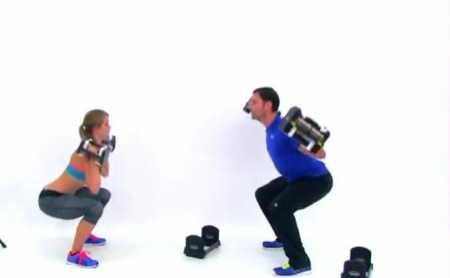 10-минутная силовая тренировка для всего тела / Total Body Strength Barbell Workout