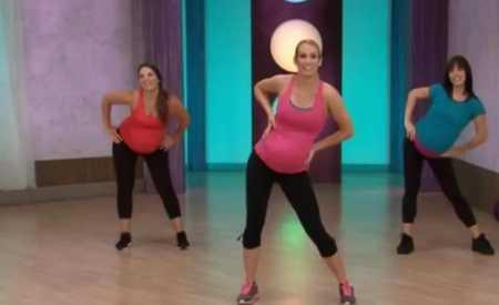 Танцевальная тренировка для беременных / Cardio Dance Pregnancy Workout