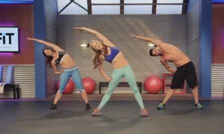 Высокоинтенсивная тренировка пресса / Toning HIIT Workout for the Core