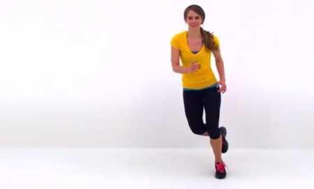 Короткая тренировка ног и икр / Quick Cardio Calf Workout at Home