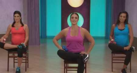 Тренировка ног для беременных / Buns in the Oven Legs and Butt Workout