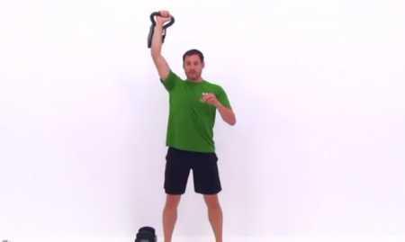 Тренировка верхнего плечевого пояса с гирей / Upper Body Kettlebell Training for Strength