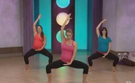 Танцевальная тренировка пилатес для беременных / Pregnant Pilates Dance Workout