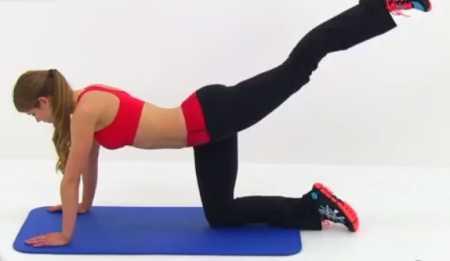 Упражнения для бедер и ягодиц + кардио интервалы / Cardio, Butt and Thigh Workout