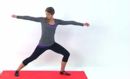 Йога + упражнения пилатес / Stretching, Pilates, Yoga Workout
