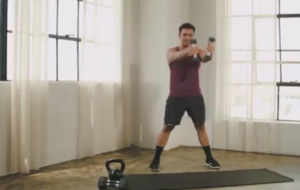 3 упражнения для похудения дома