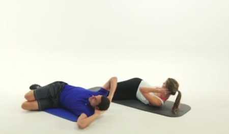 Упражнения для пресса в домашних условиях / 24 Minute At Home Abs Workout