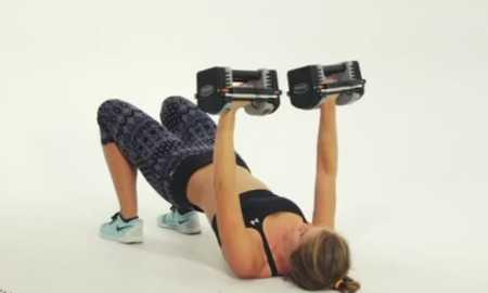 10-минутная тренировка верхнего плечевого пояса / At Home Upper Body Workout for Toned Arms, Shoulder & Upper Back