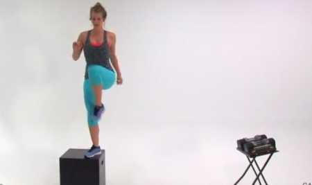 Силовая тренировка ягодиц и бедер / Brutal Butt and Thigh Workout