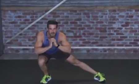 Жиросжигающая тренировка для всего тела / Total Body Burn Resistance Band Training