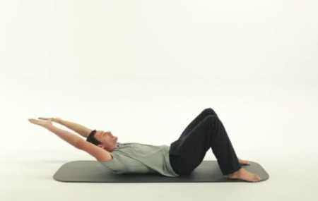 10-минутная тренировка пилатес для живота / 10 Minute Abs Pilates Workout