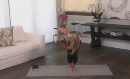 Йога для рук / Yoga Arm Toner Workout