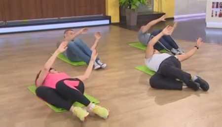 5 упражнений при болях в спине /  5 uprazhneniy pri bolyakh v spine