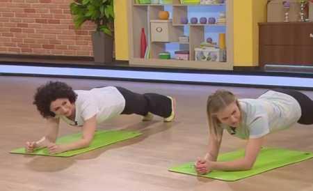 Упражнения для боков / Как избавиться от боков
