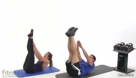Упражнения для верхней части тела и пресса / At Home Abs and Upper Body Workout