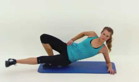Упражнения на фитболе для внутренней части бедра / 10 Minute Inner Thigh Workout