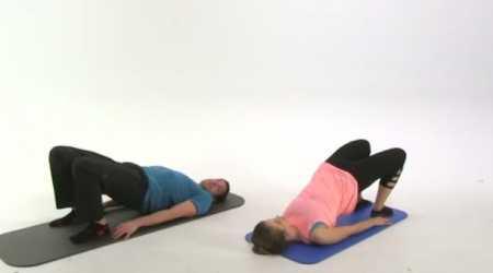 Комплекс пилатес для нижней половины тела / Lower Body Pilates Workout
