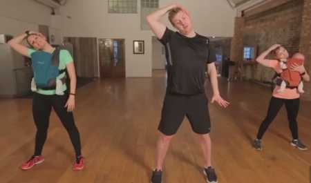 Послеродовая тренировка с малышом / Post Natal Progressions Workout