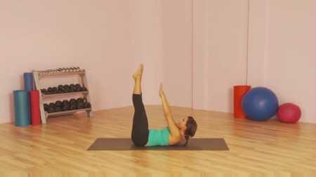 Тренировка пилатес для талии / Lean Abs Workout: Pilates Body