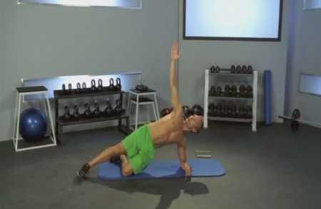 Силовая тренировка пресса для начинающих / Beginner Core Strength Workout 1: Steve Jordan