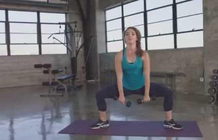 Интенсивная тренировка для похудения / HIIT Workout for Weight Loss & Strength: Kara Griffin