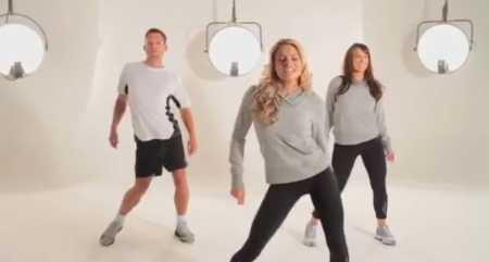 Аэробика для похудения дома - видео для