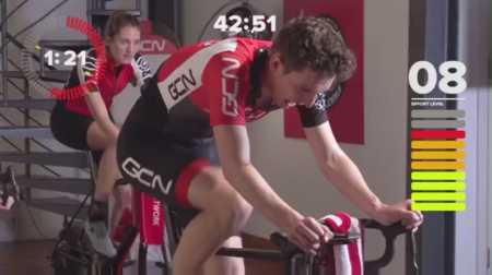 Интервальная тренировка на велотренажере / Race Winning Intervals Workout